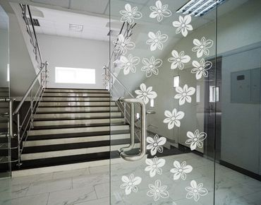 Adesivo per finestre - no.UL510 many Florets
