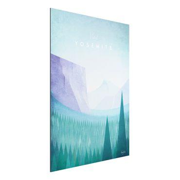 Stampa su alluminio - Poster Viaggi - Yosemite Park - Verticale 4:3