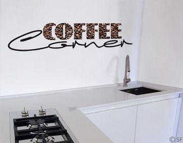 Adesivo murale no.SF828 Coffee Corner