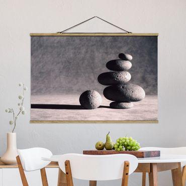 Foto su tessuto da parete con bastone - in armonia - Orizzontale 2:3
