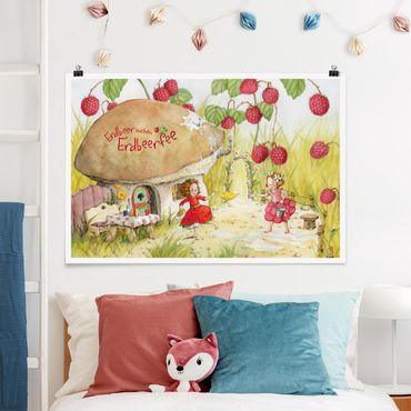 Poster - Strawberry Coniglio Erdbeerfee - Under The Himbeerstrauch - Orizzontale 2:3