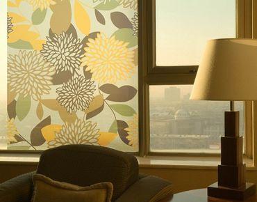 Decorazione per finestre Vintage Flowers