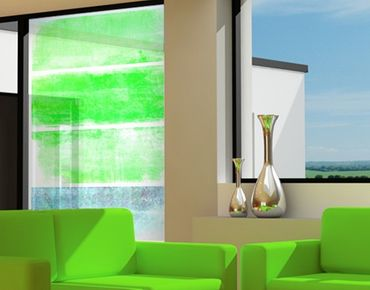 Decorazione per finestre Colour Harmony Green