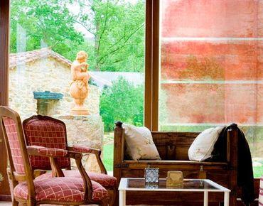 Decorazione per finestre Colour Harmony Red