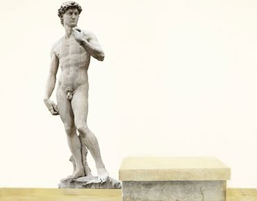 Adesivo murale No.347 Michelangelo's David