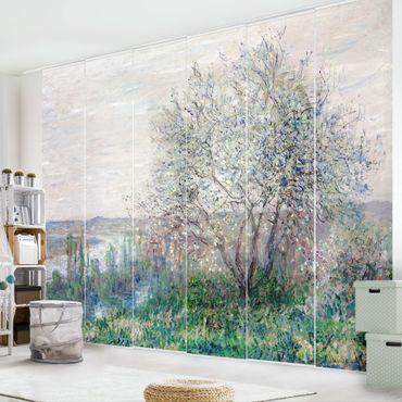 Tende scorrevoli set - Claude Monet - Spring In Vétheuil