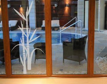 Adesivo per finestre - no.8 bamboo