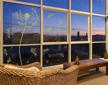 Adesivo per finestre - no.199 Dandelion