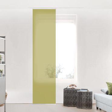 Tenda scorrevole set - Lime Green Bamboo