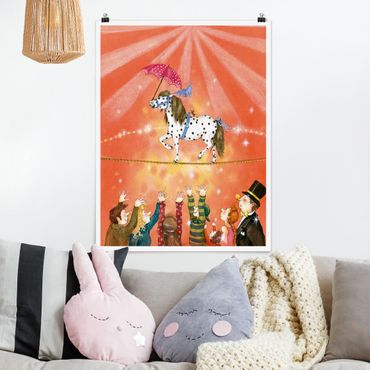Poster - Circo Pony Micki - Verticale 4:3
