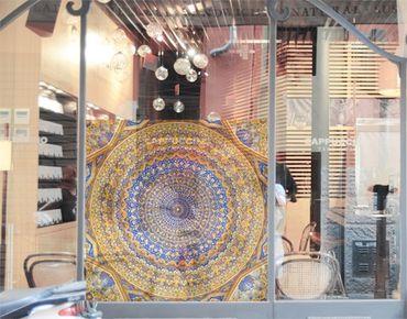 Decorazione per finestre Dome of the Mosque