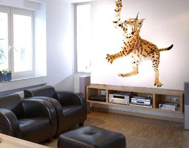 Adesivo murale No.371 Lurking Lynx