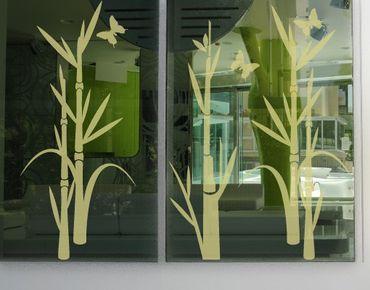 Adesivo per finestre - no.75 Bamboo