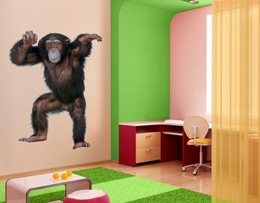 Adesivo murale no.291 Cheery Monkey