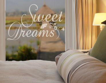 Adesivo per finestre - no.214 Sweet Dreams