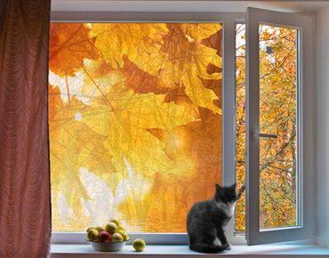 Decorazione per finestre Autumn Leaves