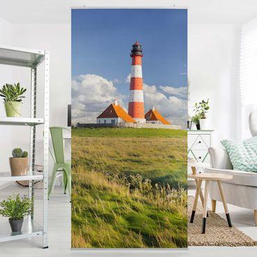 Tenda a pannello - Lighthouse in Schleswig-Holstein 250x120cm