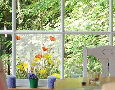Decorazione per finestre Wild Flowers