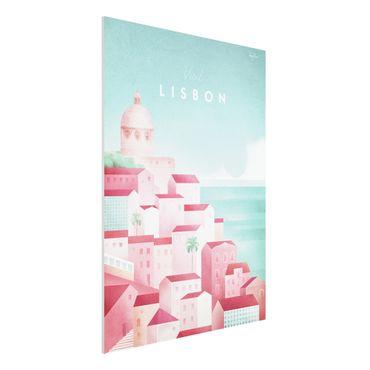 Stampa su Forex - Poster viaggio - Lisbona - Verticale 4:3