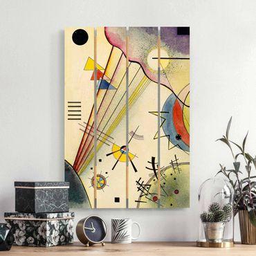Stampa su legno - Wassily Kandinsky - Collegamento Significativo - Verticale 3:2
