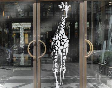 Adesivo per finestre - no.TA1 Giraffe