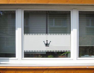 Pellicole per vetri - no.UL12 Curtain Crown I