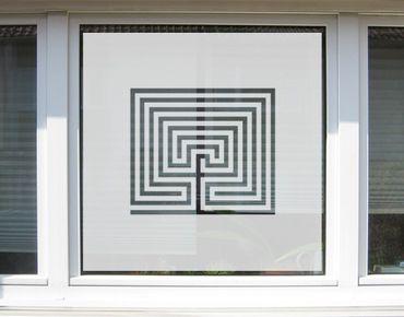 Pellicole per vetri - no.UL13 Labyrinth