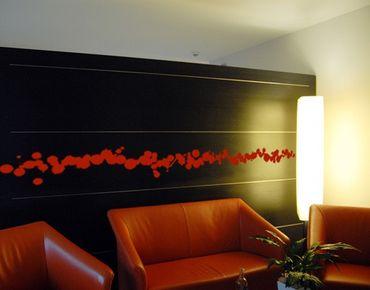 Adesivo murale bordura no.CG107 Splatter