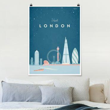 Poster - Poster Viaggio - Londra - Verticale 4:3