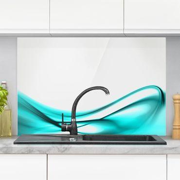 Paraschizzi in vetro - Turquoise Design