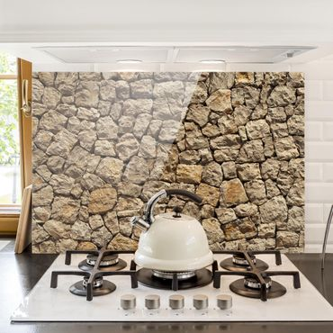 Paraschizzi in vetro - Old Wall Of Paving Stone