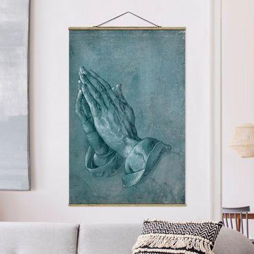 Foto su tessuto da parete con bastone - Albrecht Dürer - Studio di mani in preghiera - Verticale 3:2