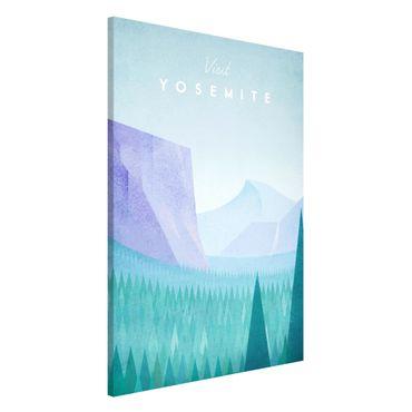Lavagna magnetica - Poster Viaggi - Yosemite Park - Formato verticale 2:3