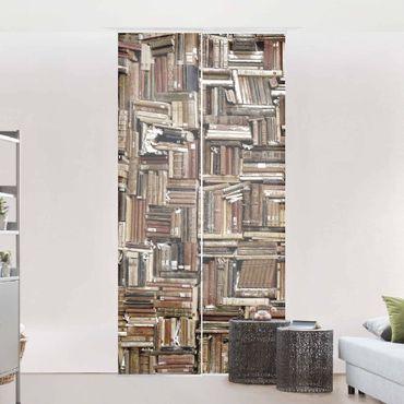 Tende scorrevoli set - Shabby Bookcase