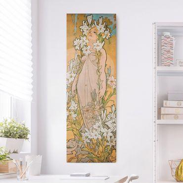 Quadri su tela - Alfons Mucha - The Lily