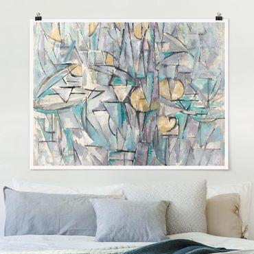 Poster - Piet Mondrian - Composizione X - Orizzontale 3:4