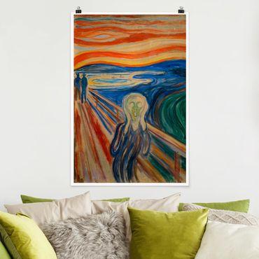 Poster - Edvard Munch - L'urlo - Verticale 3:2