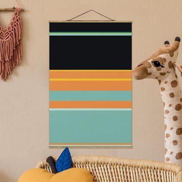 Foto su tessuto da parete con bastone - Locandina cinematografica Alladin - Jasmine - Verticale 3:2