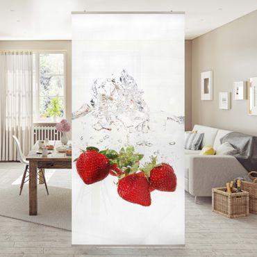 Tenda a pannello Strawberry water 250x120cm