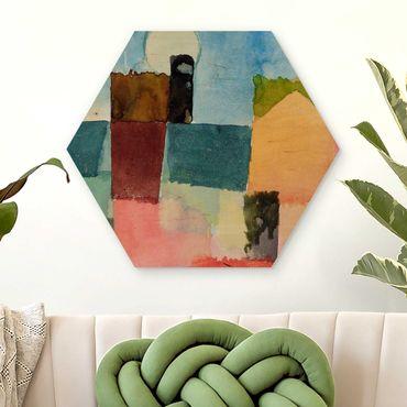 Esagono in legno - Paul Klee - Moonrise