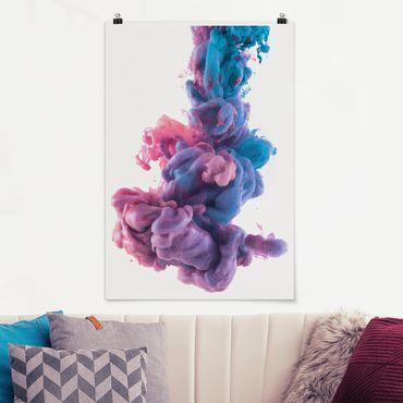 Poster - Estratto vernice liquida - Verticale 3:2