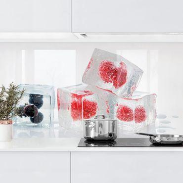 Rivestimento cucina - Frutta In Cubetto Di Ghiaccio