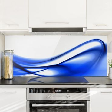 Paraschizzi in vetro - Blue Touch