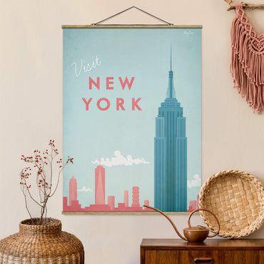 Foto su tessuto da parete con bastone - Poster Viaggi - New York - Verticale 4:3