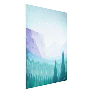 Stampa su Forex - Poster Viaggi - Yosemite Park - Verticale 4:3