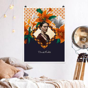 Poster - Frida Kahlo - Gigli - Verticale 4:3