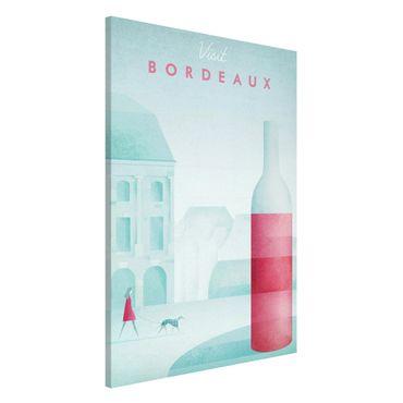 Lavagna magnetica - Poster viaggio - Bordeaux - Formato verticale 2:3