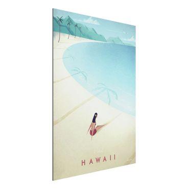 Stampa su alluminio - Poster Viaggi - Hawaii - Verticale 4:3