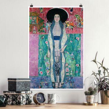 Poster - Gustav Klimt - Adele Bloch-Bauer II - Verticale 3:2