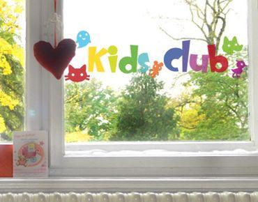 Adesivi da finestra No.IS22 Kids Club